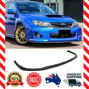 Front Lip Splitter Fits Subaru Impreza G3 Hatch Sedan WRX STI (2011-2014)