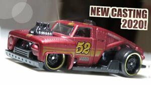 Hot Wheels Erikenstein ROD Red Kids Diecast Model Toy Car HW Hot Trucks GHF14