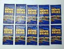 Disney Movie Stars Woolworths Cards -  10 x Unopened Packets / Packs