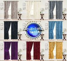 Unbranded Crushed Velvet Curtains