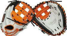 """New listing Rawlings Liberty Advanced 33"""" Color Series Fastpitch Catcher Mitt RLACM33FPOB"""
