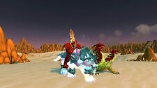 Explore Azeroth on four level 110s in style riding a swift spectral tiger!!!!