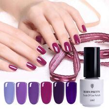 5ml Purple Series Nail Art UV Gel Soak Off UV Polish Varnish Tool Born Pretty