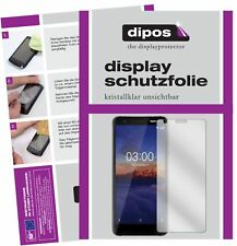 2x Nokia 3.1 Screen Protector Protection Crystal Clear dipos