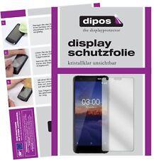 2x Nokia 3.1 Protector de Pantalla protectores transparente dipos