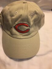 Chicago Bears NFL Cap Hat Adjustable Beige Cotton - Never Worn