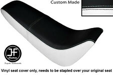 Noir & Blanc Automotive Vinyle Personnalisé Pour Kinroad XT 50 GY Double Housse De Siège uniquement
