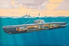 Revell Deutsches U-Boot Typ XXI mit Interieur 1:144 Revell 05078