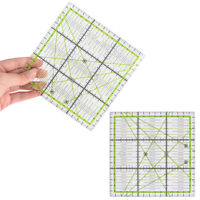 Square Quilting Template, Patchwork, Sewing, Craft, Ruler, Stencil, Acrylic