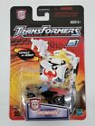 NEW Rare Sealed IRONHIDE Transformers CLEAR Spy Changers 2001 Hasbro MOC RID