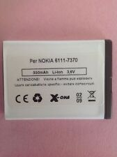 BATTERIA NOKIA-6111-7370- BL-4B-COMPATIBILE  made in Italy    QUALITY TOP