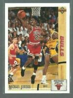 1991-92 Upper Deck Michael Jordan #44 In Air Flight Chicago Bulls (B5)