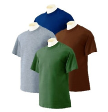 12 pc Fruit of Loom Men Short Sleeve Solid Color Blank Tshirt Size M-4X,Bulk Lot