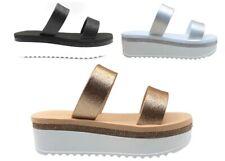 Sandalias de Mujer Laura Biagiotti 6373 Zapatos Casual Mar Piscina de Moda