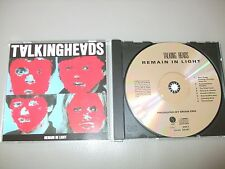 Talking Heads - Remain in Light (CD) 8 Track West German Issue No Barcode - Mint