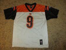 reebok CINCINNATI BENGALS #9 PALMER shirt jersey vintage trikot NFL oldschool