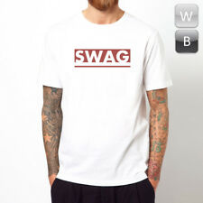 Swag t-shirt Dope Fresh Cool Hipster Rock Graphic Hip Hop Fitted Top Tee Unisex