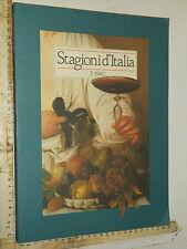 STAGIONI D'ITALIA 2-1990, ENIT, ALITALIA, AUTOSTRADE, FERROVIE, FINMARE, TOURING