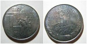 Repubblica di SAN MARINO 50 Lire 1982 unc/fdc da serie zecca