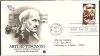 US SC # 2411 Arturo Toscanini FDC . Artcraft Cachet.