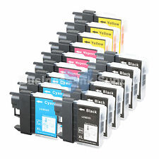 15 PACK LC65 Ink Set for Brother MFC-5890CN MFC-5895CW MFC-6490CW MFC-6890CDW
