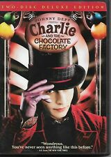 Charlie And The Chocolate Factory (Dvd, 2-Discs, Ws) Johnny Depp! ShipsFree!
