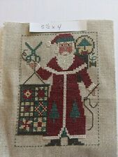 Santa Cross Stitch Completed