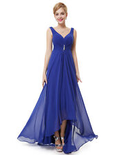 Ever-Pretty Bridesmaids Wedding Party Long Maxi Dress 09983 Size 4 Sapphire Blue 8