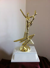Cheerleader all star trophy award.  Free engraving.