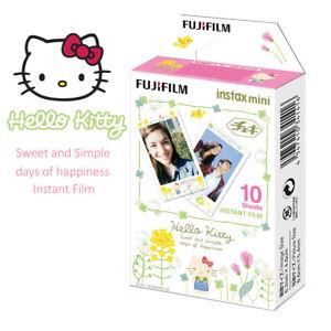 Fujifilm Instax Mini Film Sanrio Hello Kitty 10 Sheets - Fuji Instant 8 9  Photo