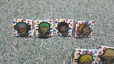 Rare- One Piece- Panson Works- Lapel Pin Set- Full Set of 9- Japan Import
