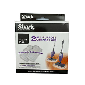 Shark OEM All Purpose Cleaning Pads Washable Reusable Pack of 2 S3101 S3202