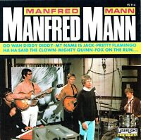 (CD) Manfred Mann - Mighty Queen, Do Wah Diddy, Fox On The Run, My Name Is Jack