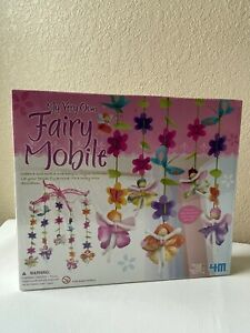NEW My Very Own Fairy Mobile - Girls Craft Kit near-vintage (2008, 4M) HTF, Rare
