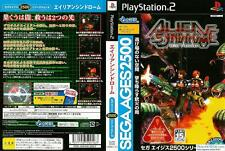 Used PS2 Sega AGES 2500  Vol 14 Alien Syndrome SONY PLAYSTATION JAPAN IMPORT