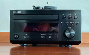 Denon RCD-M37DAB CD player / DAB radio with remote control, areals and manual