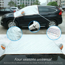 Aluminum Film Universal Car Windshield Cover Sun Shade Protect Snow Frost Guard