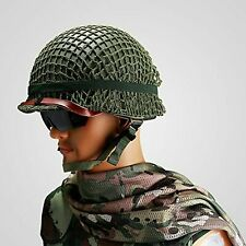 ARMY M1 HELMET NET COTTON CAMOUFLAGE HELMET COVER for WWII US