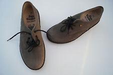 FINN COMFORT Damen Schuhe Schnürschuhe Gr.5,5 / 39 Nubuk Leder mit Einlagen Neu