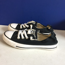 Converse Womens Chuck Taylor All Star Shoreline Knit Black White Sneaker Shoes 7