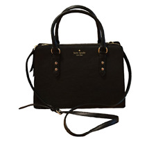 Kate Spade New York Lise Mulberry Street Black Leather Shoulder Bag Handbag