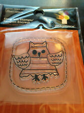 "Imaginisce ""Owl"" Clear Stamp!!! Spooky Town"