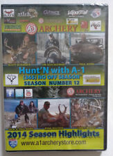 Hunt'n With A-1 Archery DVD Season 12 2014 Highlights, Still Sealed