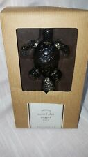 Stained Glass Sea Turtle Green Bottle Stopper by Tabletop Pottery Barn