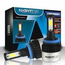Nighteye H11 72W 9000LM 6500K LED Headlight Driving Fog Lights Replace Bulbs Kit