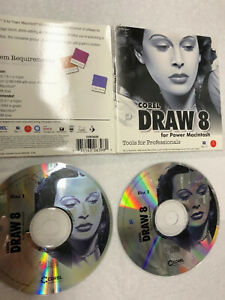 Corel Draw 8 Computer Software  USED