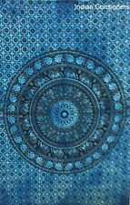 Tapestry Square Flower Elephant Poster Wall Hanging Ethnic 40*30 Floral Tie-Dye