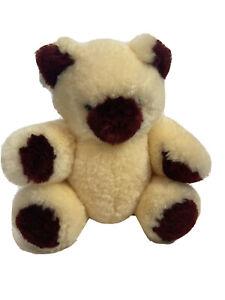 Soft sheepskin plush teddy bear Unbranded 16 In.