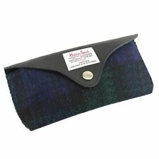 Harris Tweed Glasses Case with Leather Trim BWT NEW  25150