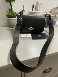 Coach SMALL JES MESSENGER WITH SIGNATURE CANVAS STRAP